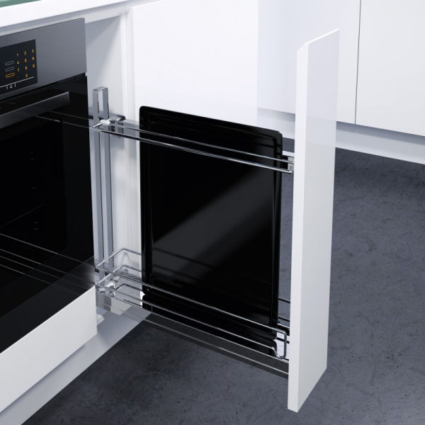 Bakeplateutdrag til kjøkken