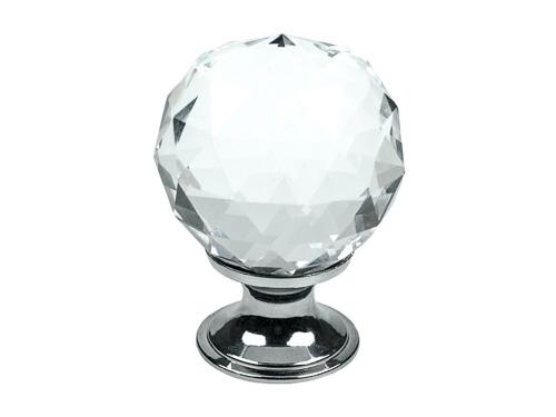 Glas Diamant knott til kjøkken
