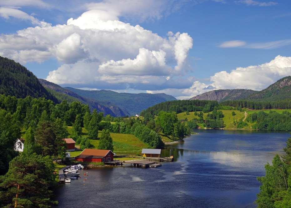 Telemark utsiktsbilde