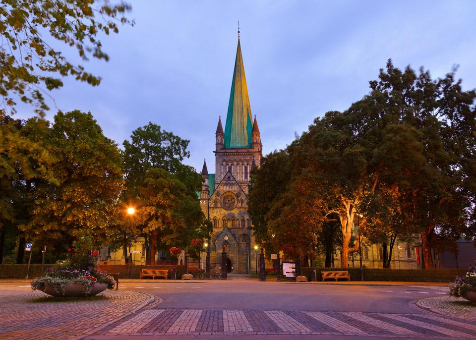 Trondheim utsiktsbilde