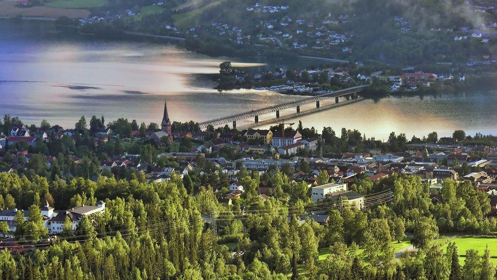 Lillehammer utsiktsbilde
